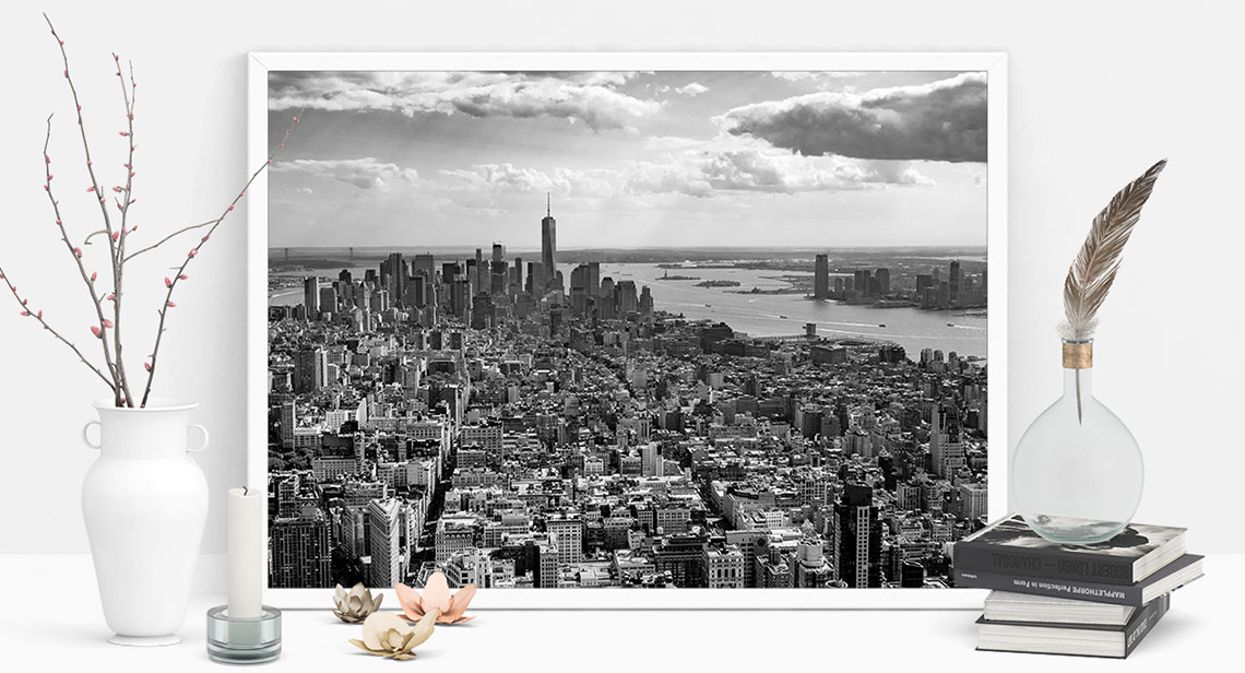 New Print: View of New York City