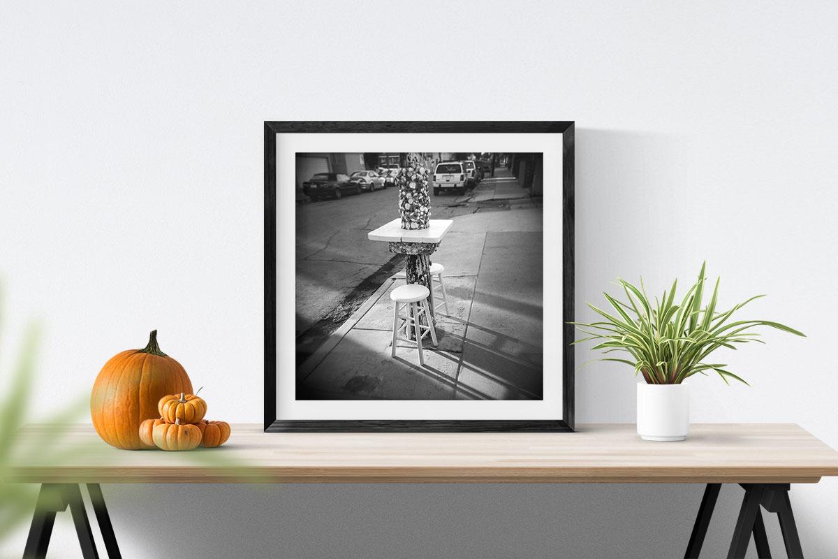 Fine Art Photo Print: Street Life