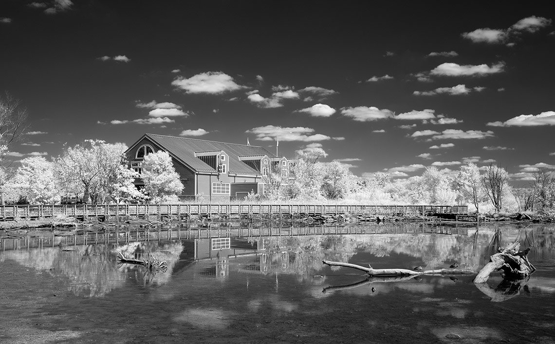 Infrared Boathouse